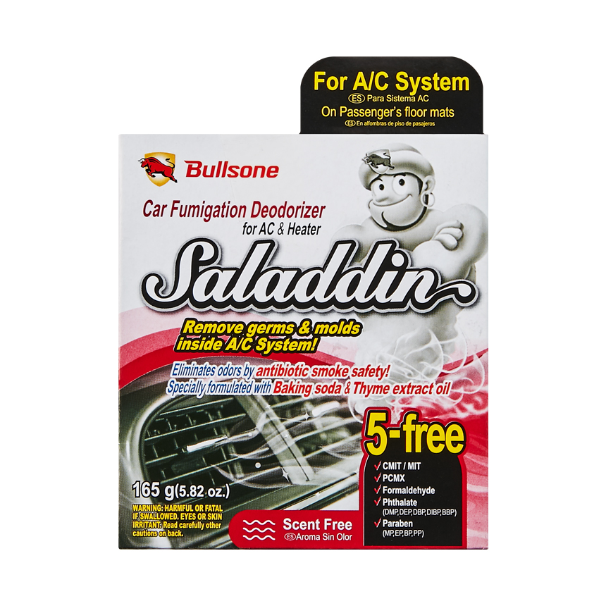 Saladdin (Fumigation Deodorizer) For Air Conditioning System 190.6G(6.72Oz) - Scent-Free