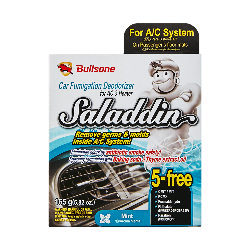 Saladdin (Fumigation Deodorizer) For Air Conditioning System 190.6G(6.72Oz) - Mint